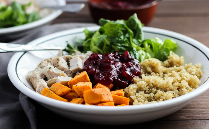 Healthy Turkey Quinoa Bowl