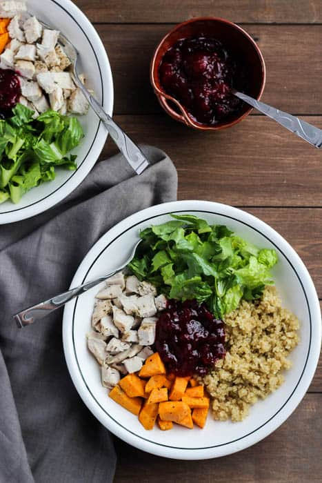 Plated Healthy Turkey Quinoa Bowls