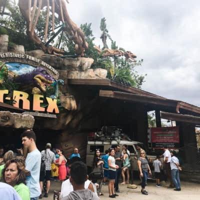 Disney Springs T-REX Restaurant Lunch Review (November 2017)