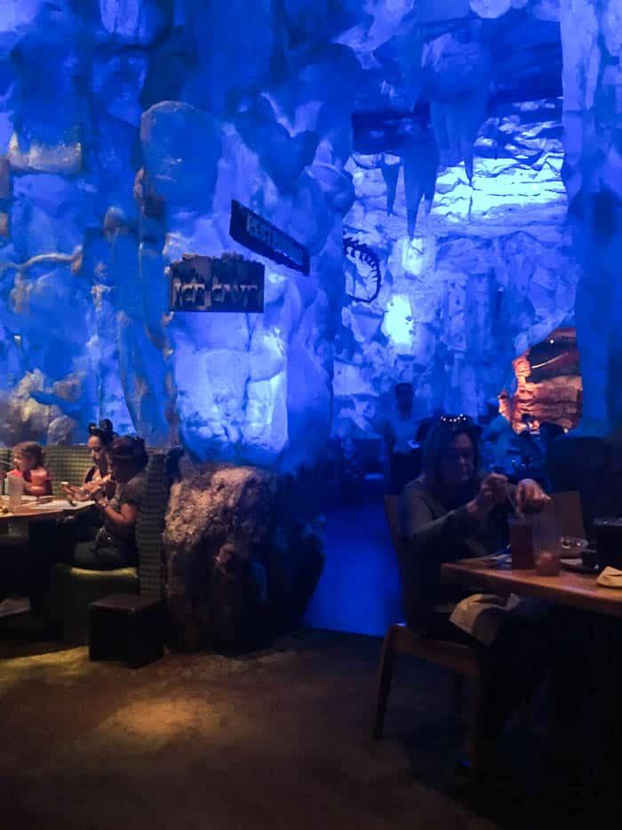 T-REX Restaurant Ice Cave