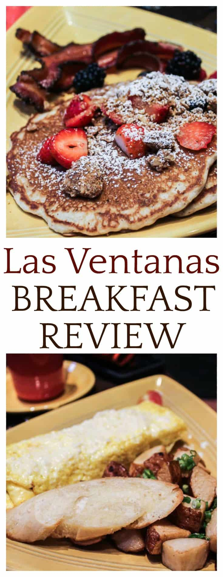 This Las Ventanas breakfast review is based on my experience when visiting the restaurant in November 2017 with my family | #disneydining #disneytravel #disneyvacation #disneyworld #restaurantreview #lasventanas