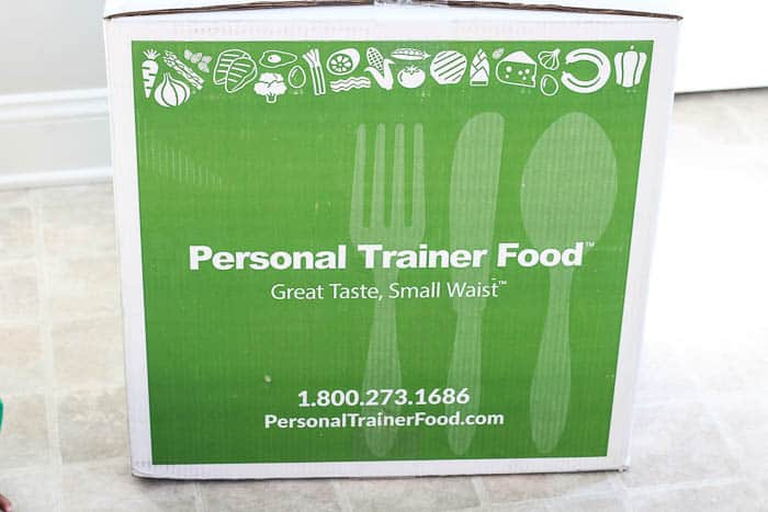 Personal Trainer Food Meal Subscription