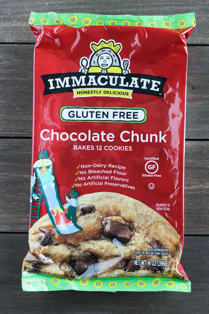 Immaculate Baking Cookie Dough Packaging
