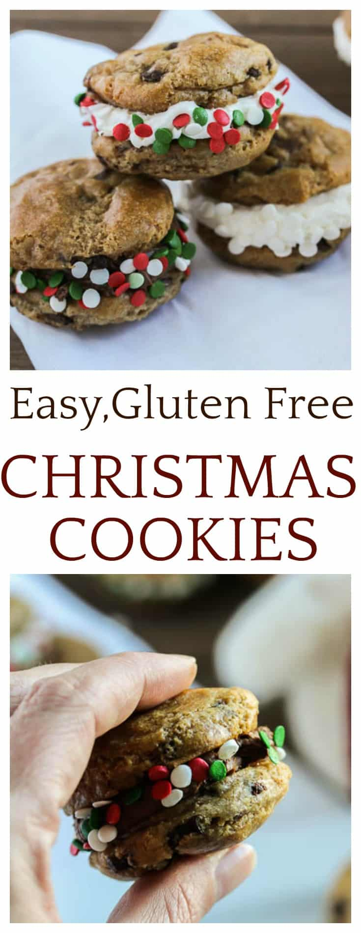 Keep the holidays as stress -free as possible with these Easy Gluten Free Christmas Cookies! | #ad #immaculatebaking #christmascookies #cookies #easyrecipes @immaculatebakes