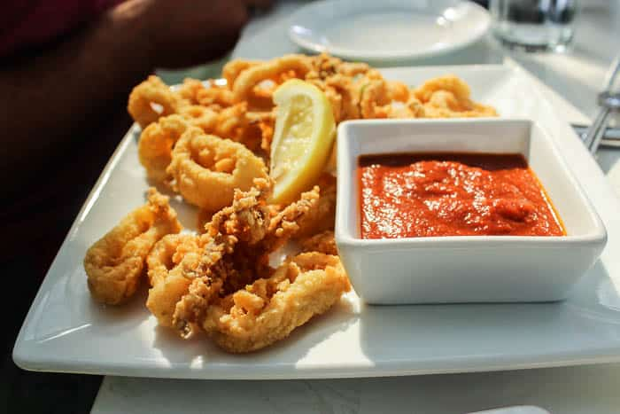 Calamari with Marinara