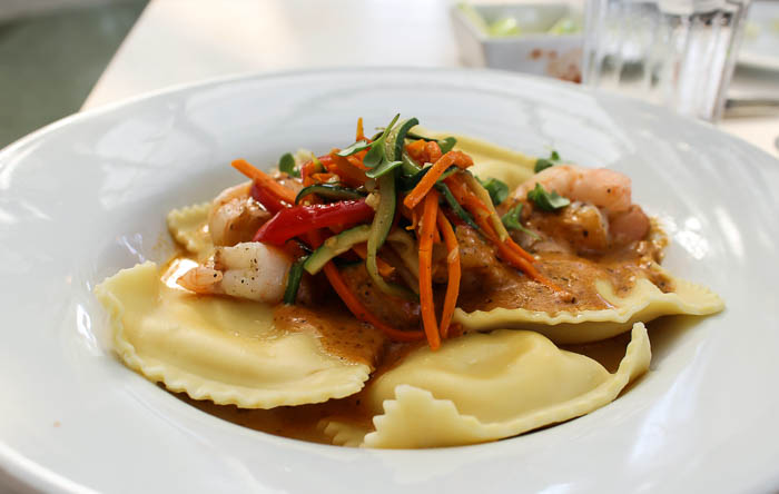 Tony's Town Square Ravioli with Shrimp