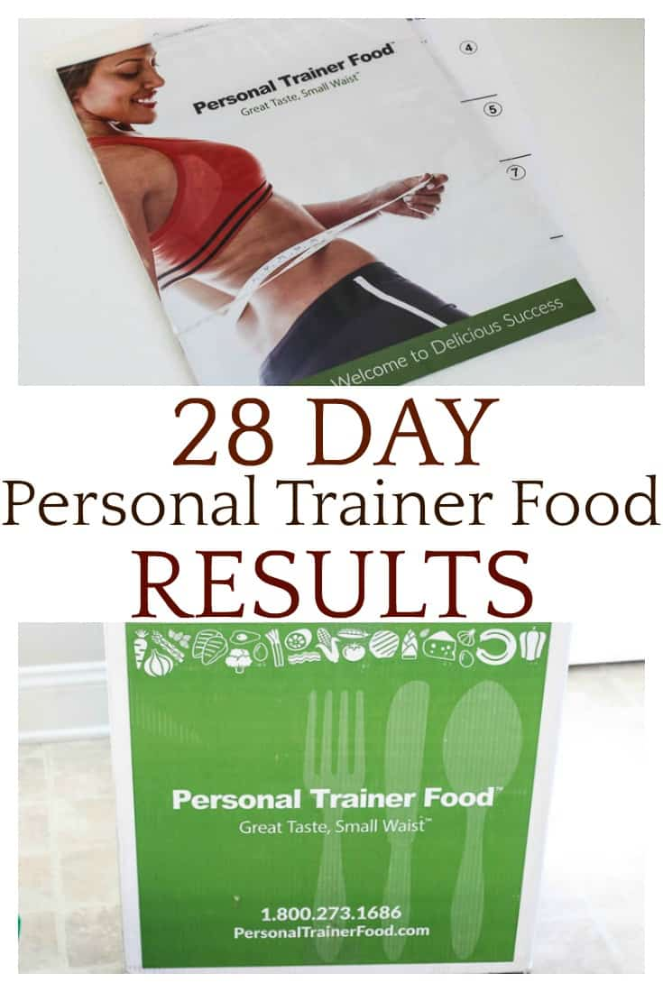 See my 28 Day Personal Trainer Food results and help decide if this is a diet program that you'd like to try!
