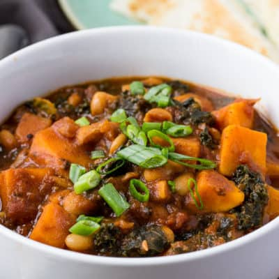 Blue Apron Spicy Sweet Potato Chili