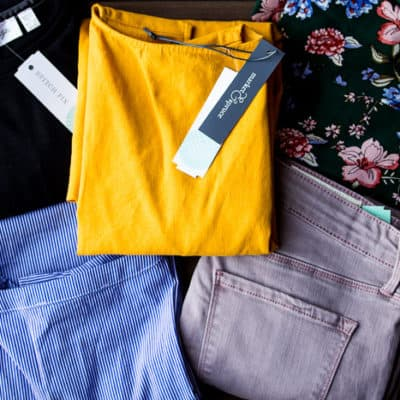Items From my April 2018 Stitch Fix Review Box