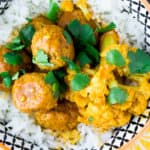 Instant Pot Coconut Curry Meatballs