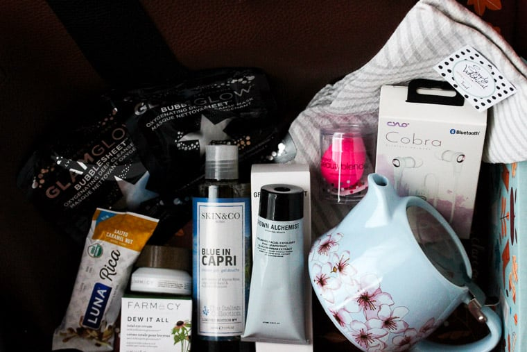 All of the Contents of My Fall 2018 FabFitFun Subscription Box