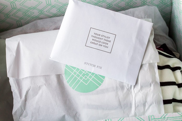 November 2018 Stitch Fix Review Box and Packaging