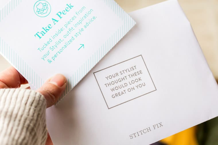 December 2018 Stitch Fix Review Cards