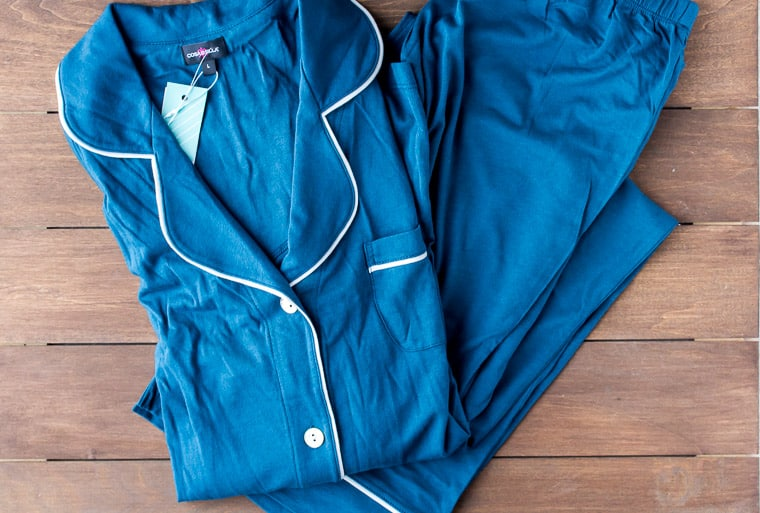 Stitch Fix Cosabella Pajama Set | AD #stitchfix #stitchfixextras #pajamas #cosabella