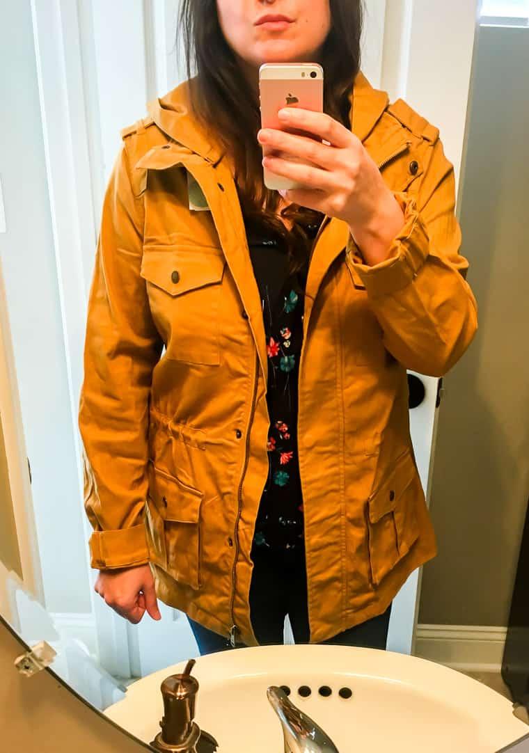Stitch Fix Tinsel Chapleen Cargo Jacket On | AD #stitchfix #fallfashion #style #stitchfixfall #jackets