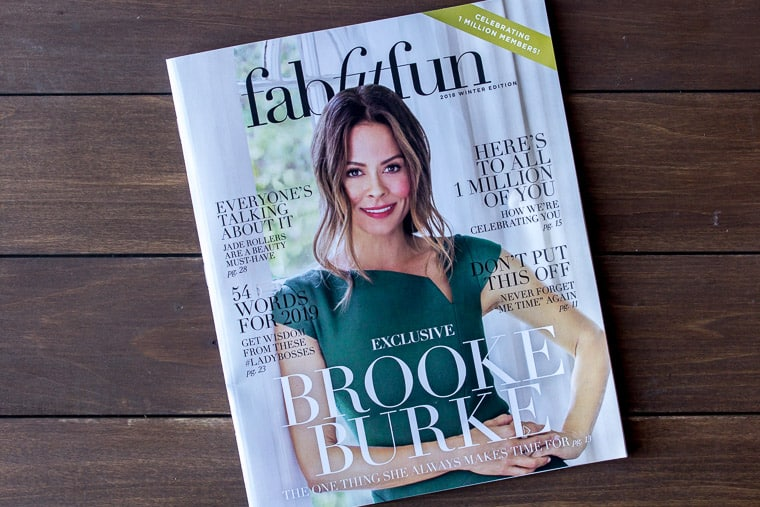 FabFitFun Winter 2018 Magazine