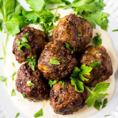 Keto Italian Meatballs