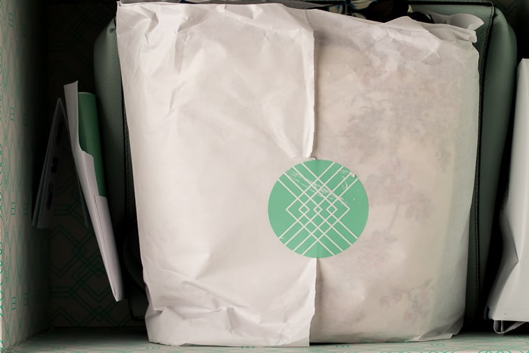 April 2019 Stitch Fix Review Box Packaging
