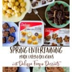 Delizza Frozen Desserts - Want to enjoy more time with your family and friends when entertaining this spring? Take a yummy short cut when it comes to dessert for spring entertaining made easy—and delicious with Delizza Frozen Desserts! | #ad #delizza #desserts #entertaining @delizzaus