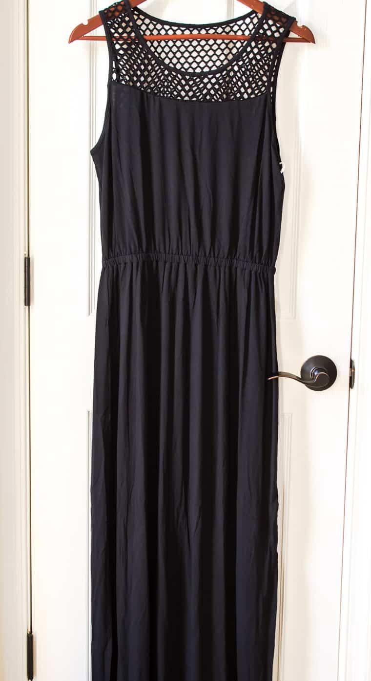 Market & Spruce Bliss Mesh Detail Knit Maxi Dress from Stitch Fix