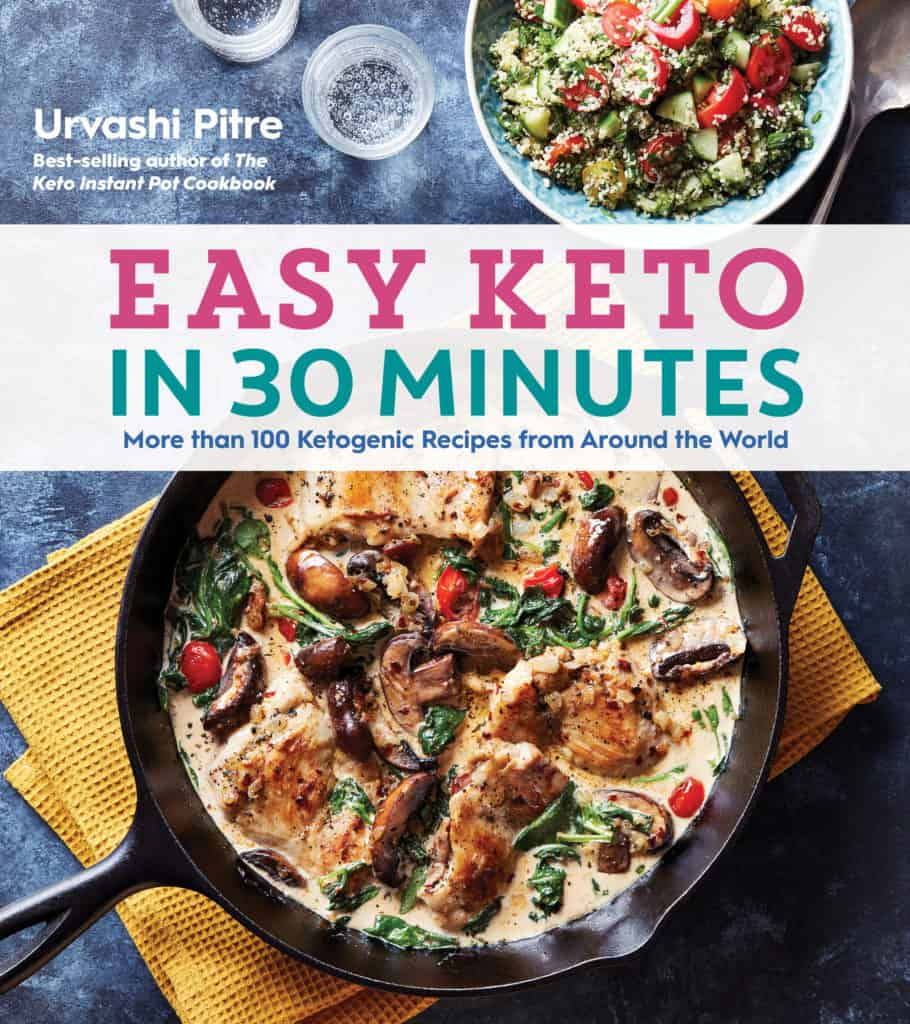 Easy Keto in 30 minutes cookbook cover