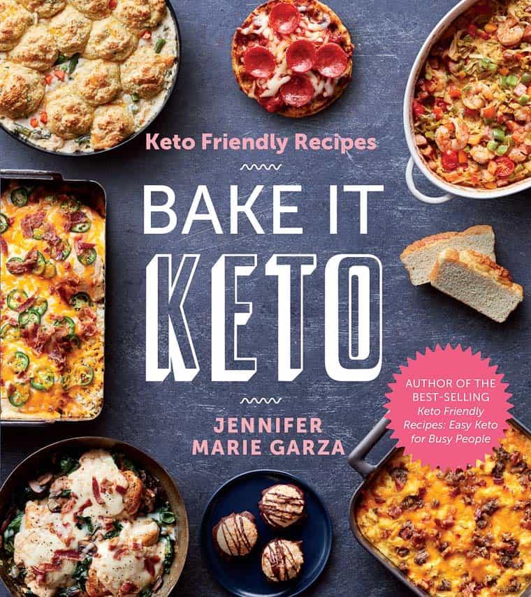 Bake It Keto Book Cover