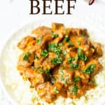 Keto Coconut Beef Curry