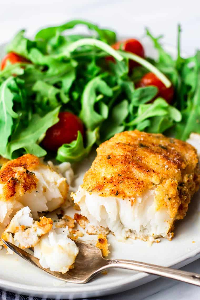 Pan Fried Cod Recipe Gluten Free Keto Friendly Delicious Little Bites