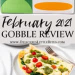 Gobble box and 3 meals with text overlay