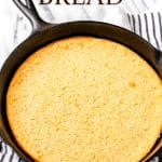 Spoon bread with text overlay