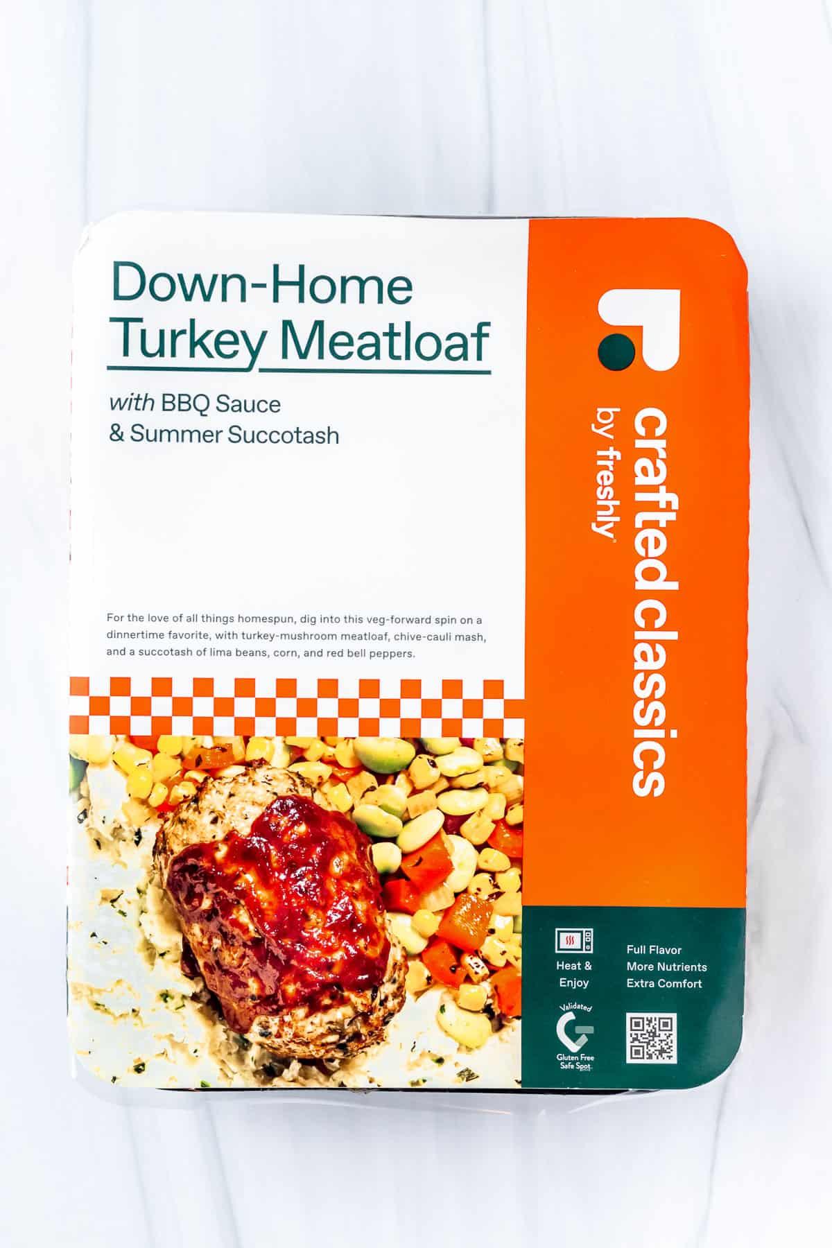 Freshly Down Home Turkey Meatloaf Box